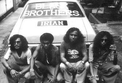 Black Brothers dari Papua terbentuk tahun 1974 (Foto Martha Boerhan)