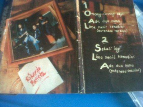 Album Rikardo Batista (1991) Fariz RM,Dandung Sadewa dan Ricky Johannes (foto Denny Sakrie)