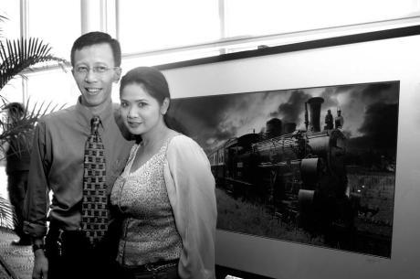 Aryono Huboyo Djati dan Vina Panduwinata (Foto AHD)