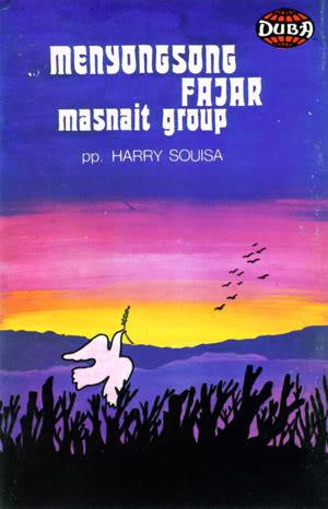 Album Masnait Menyongsong Fajar yang dirilis Duba Record tahun 1980