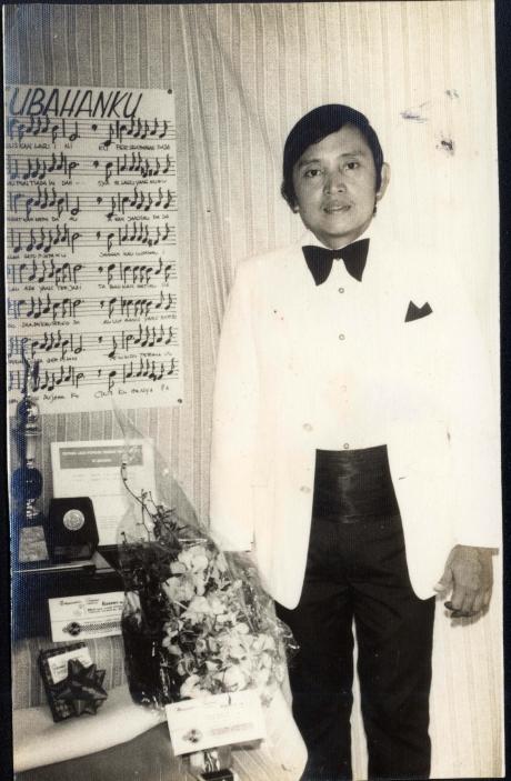 Gatot Soenjoto dan lagu Gubahanku tahun 1973