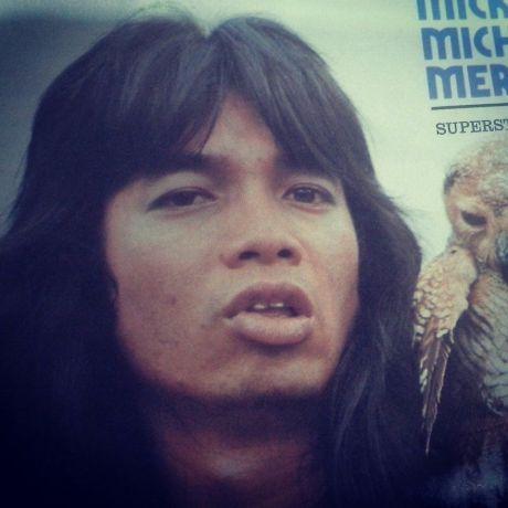 Micky Michael Merkelbach di tahun 1975 (Foto Majalah Ultra)