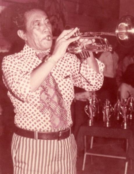 Peniup trumpet legendaris Said Kelana