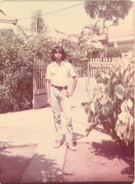 Jimmy Paais di tahun 1977